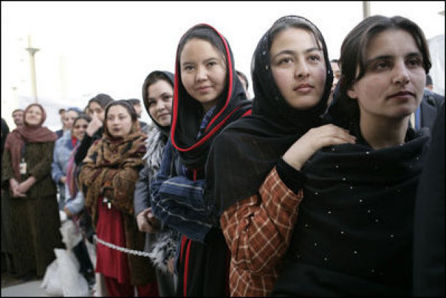 The Rise and Fall of Civil Liberties in Afghanistan: The Redaction of Womens' Rights