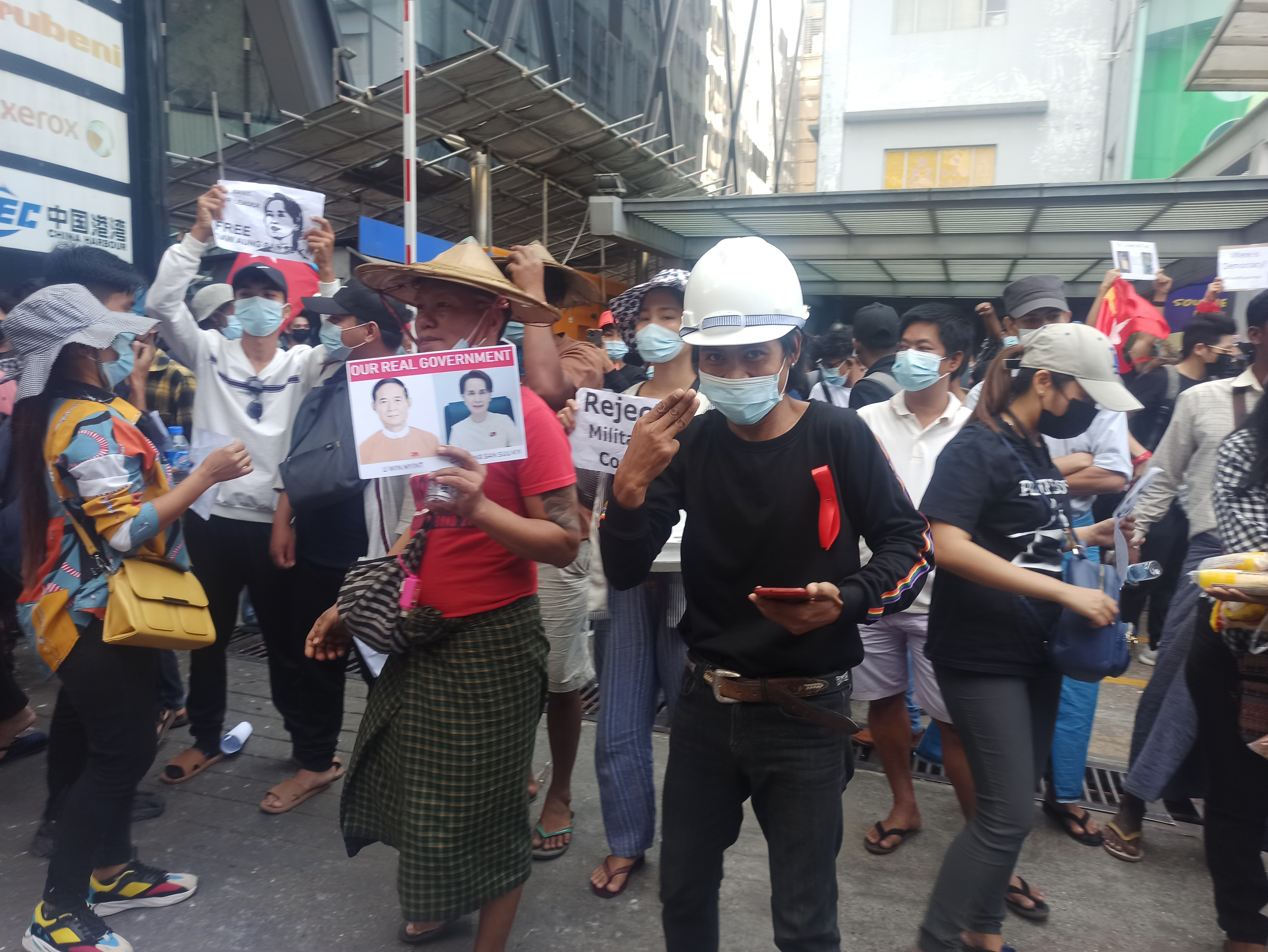 Voices of Myanmar: Choosing to protest no matter the risks
