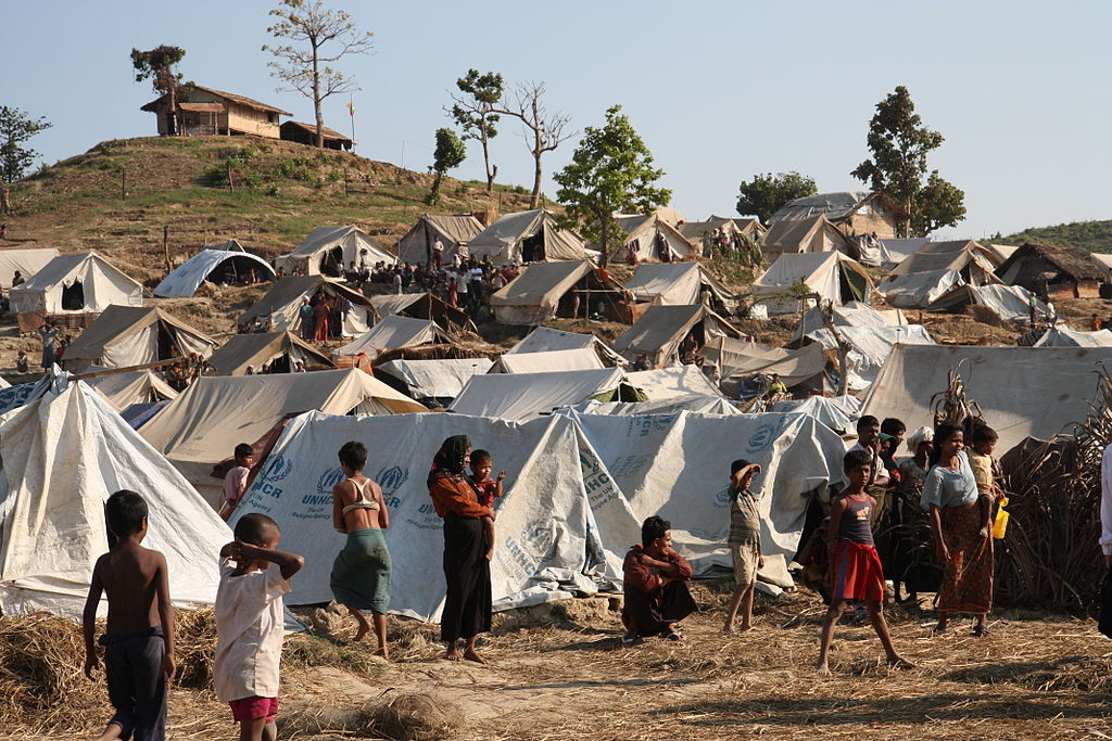 Rakhine camp