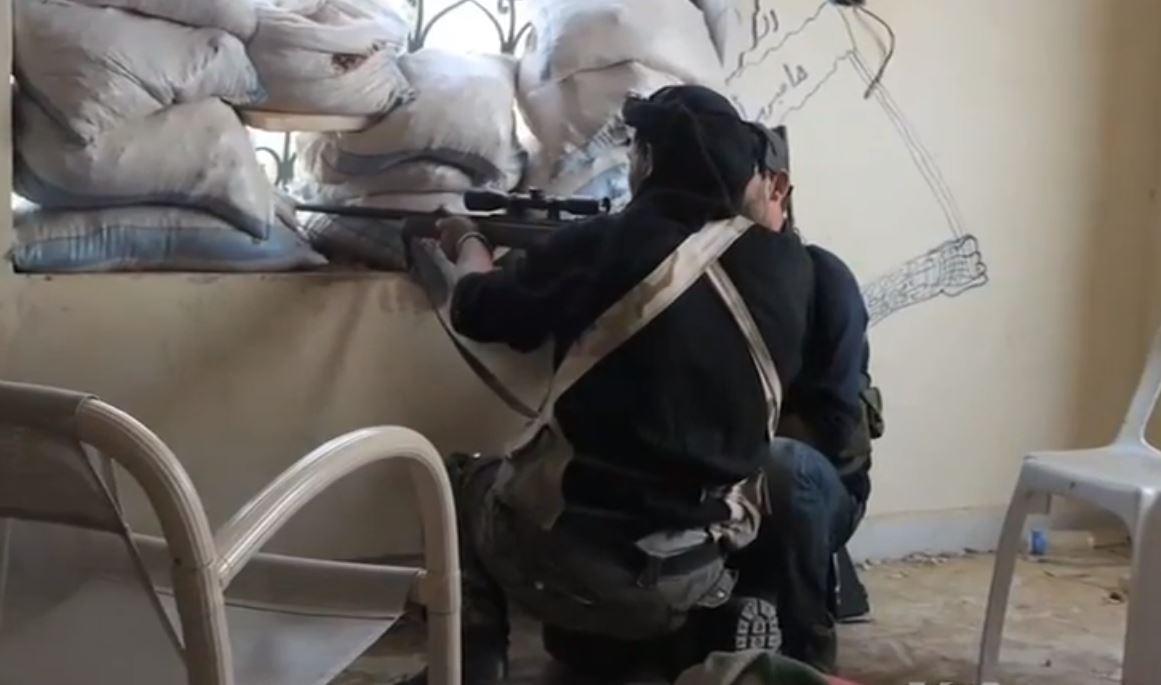 Syrian gun