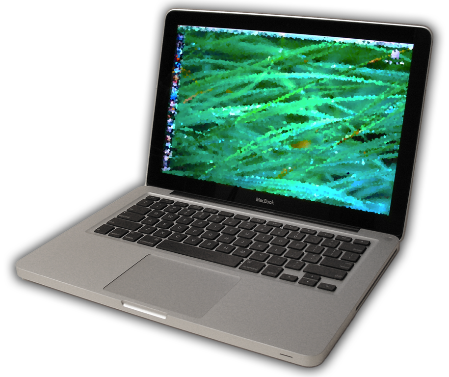 aluminum macbook laptop computer