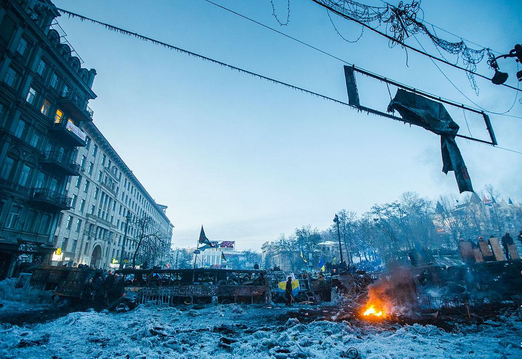Ukraine riot aftermath