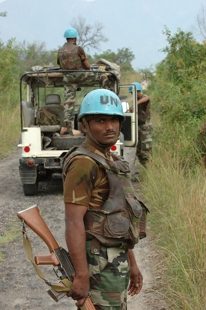 UN peacekeepers congo