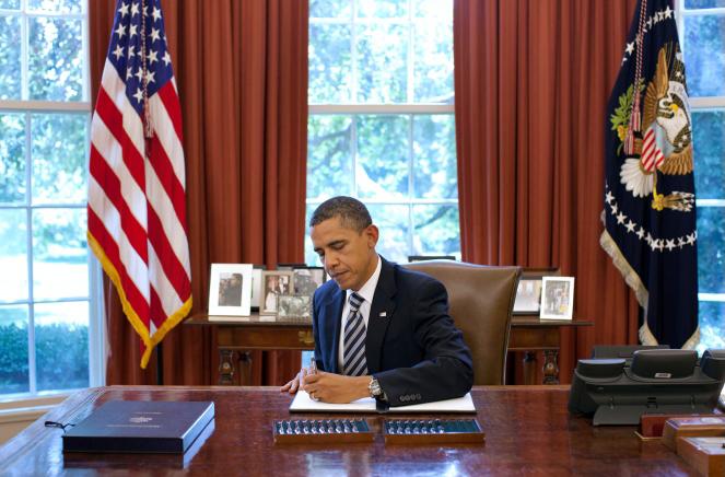 obama signing