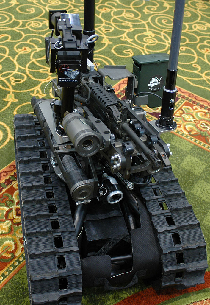 robot guns