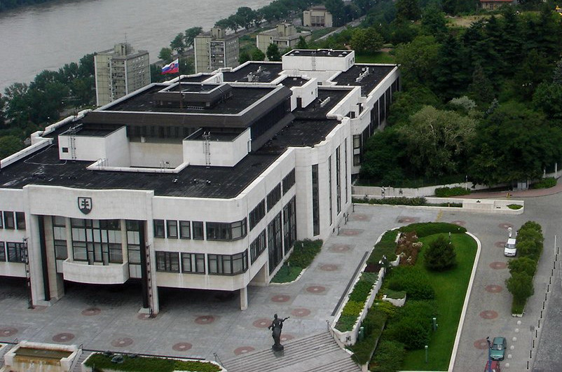 slovak national council building