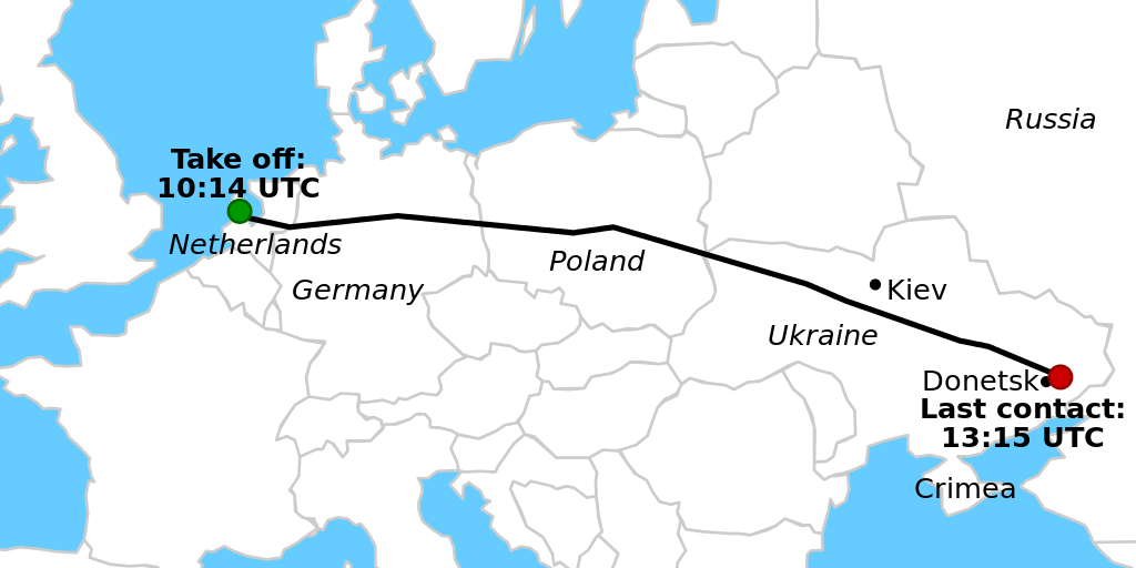 mh17 map