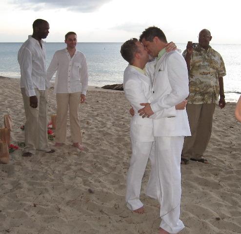 same-sex marriage ceremony