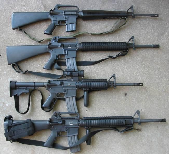 M-16 Rifles