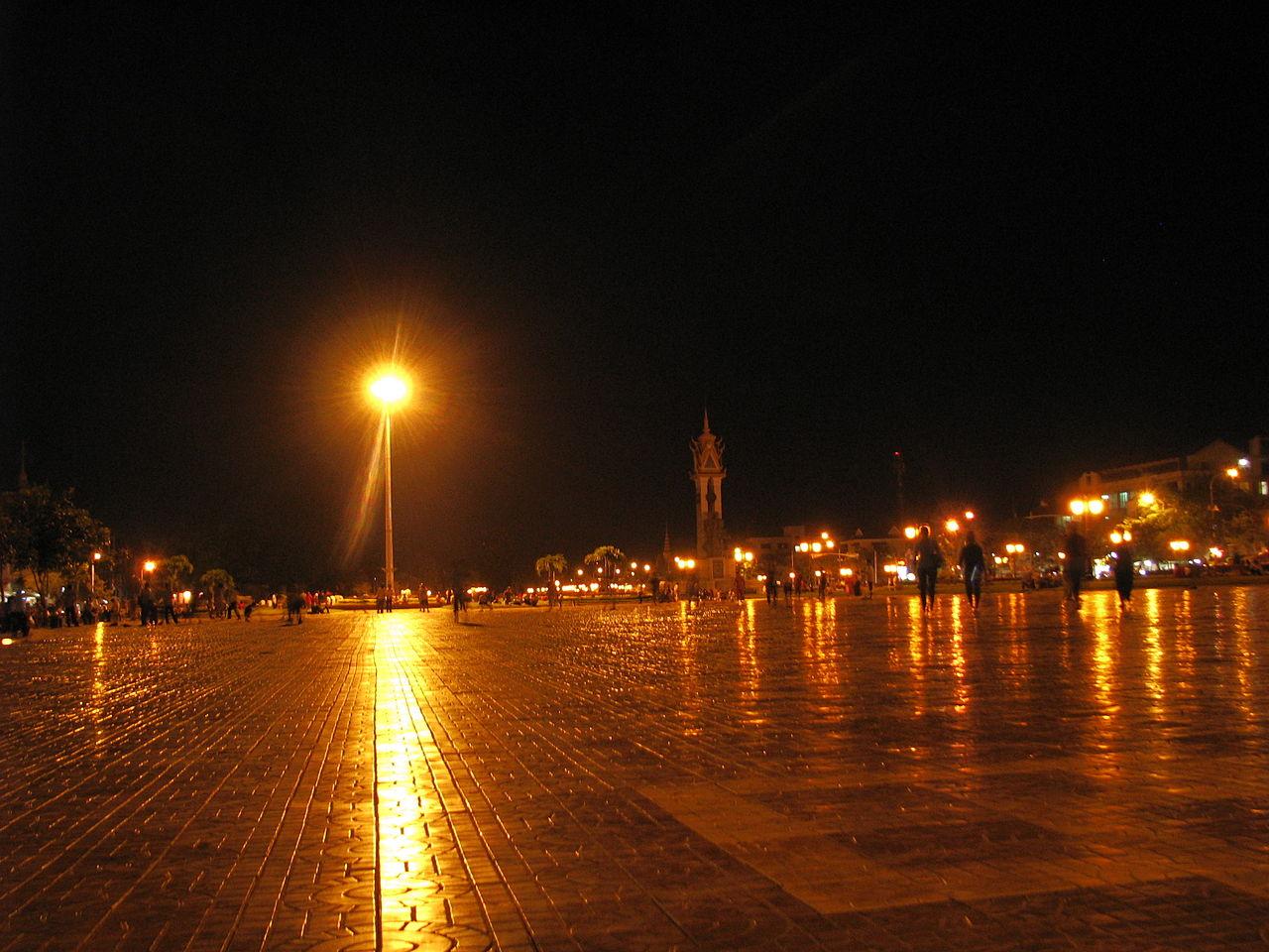 Cambodia at night
