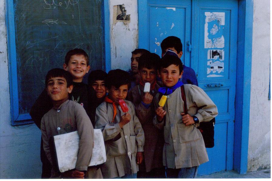 Syrian school children