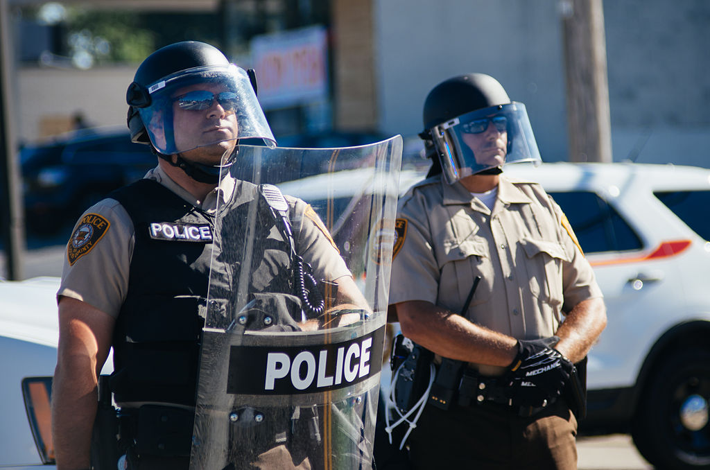 ferguson police big