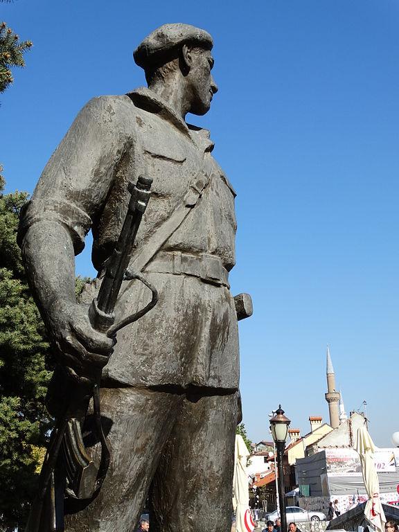 KLA statue