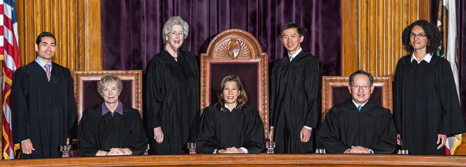 CA supreme court justices
