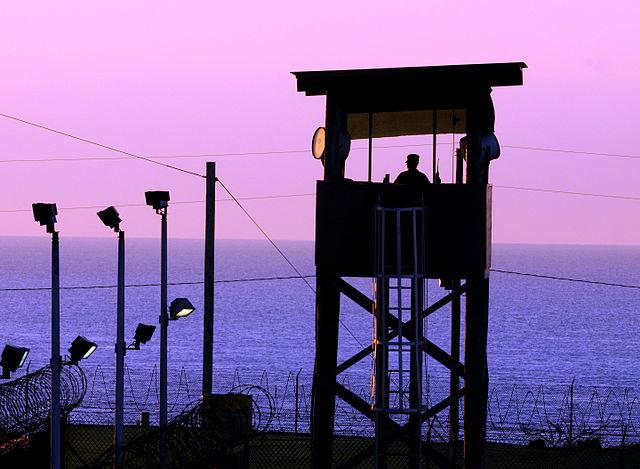 Guantanamo watch tower
