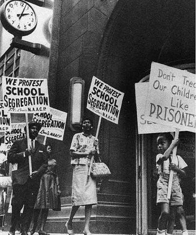 Segregation march