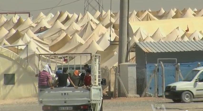Refugee site