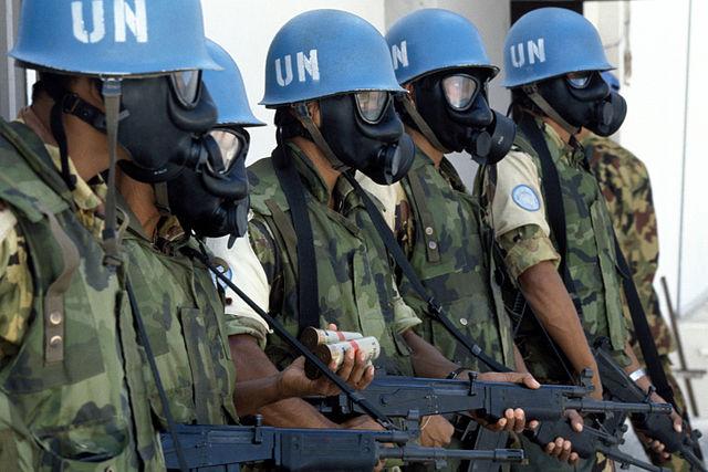 UN Peacekeeprs