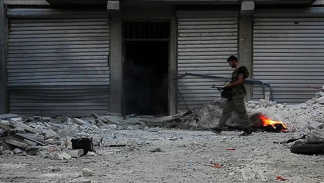syrian war aleppo