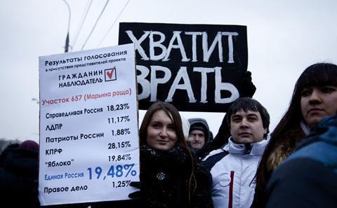 Protest Russia