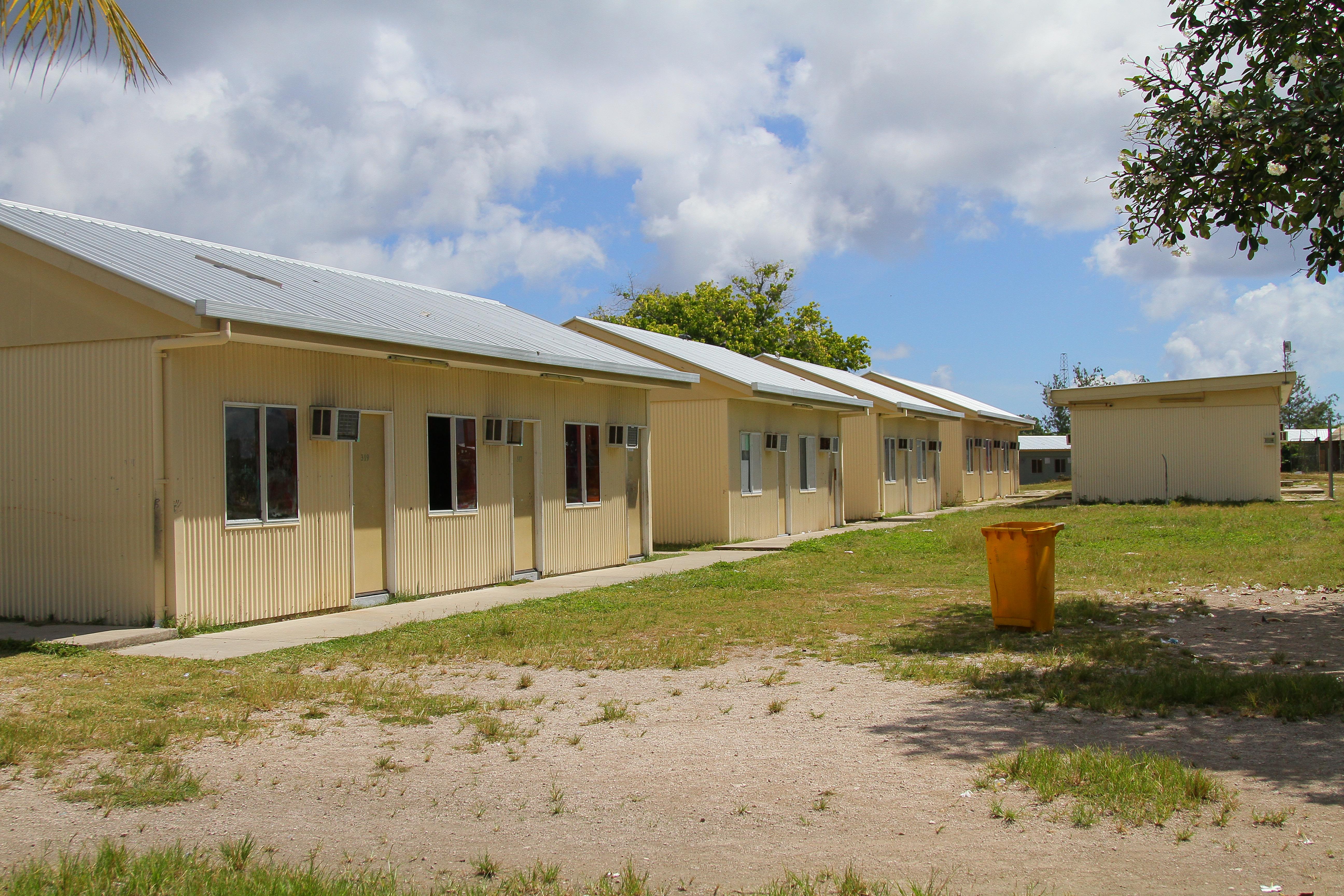 Nauru refugee center