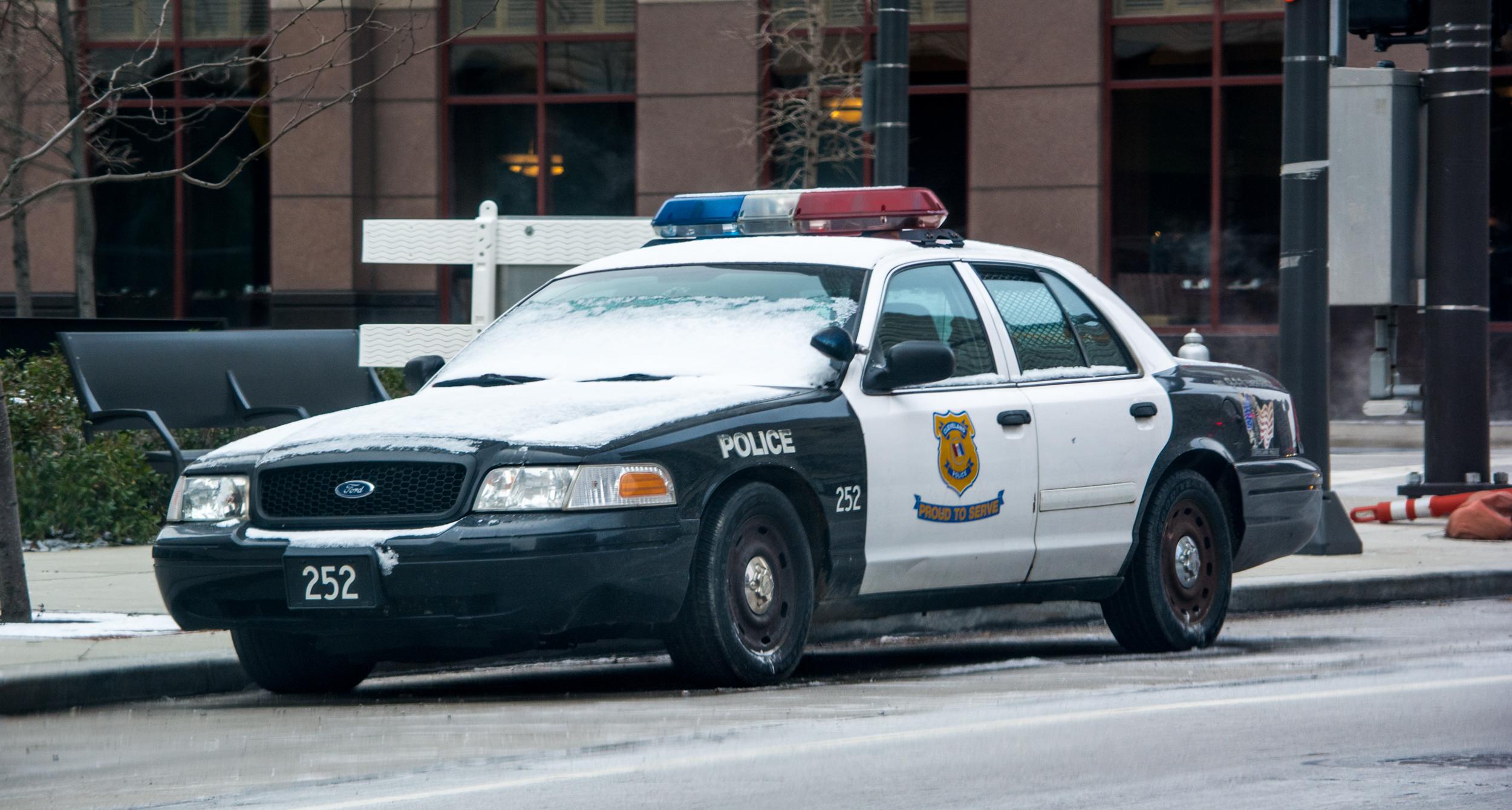 Cleveland Police Car