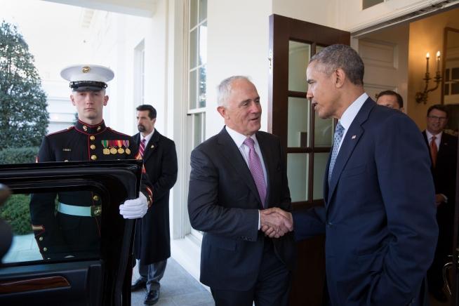 Turnbull and Obama