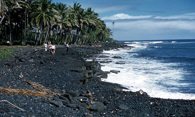 Hawaii Black Sands