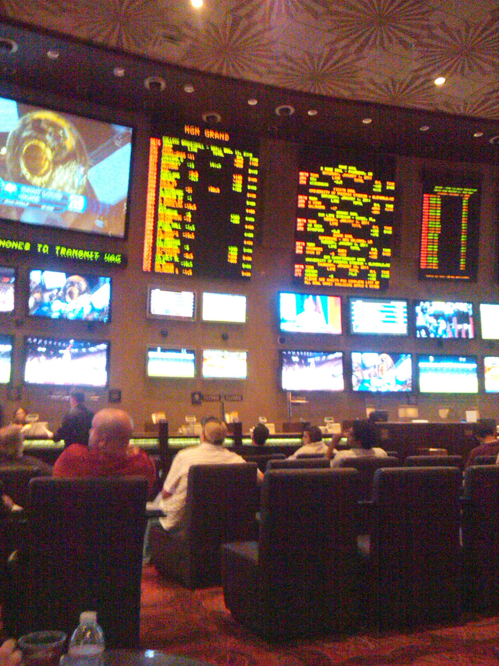 MGM Grand Race and Sports book Las Vegas