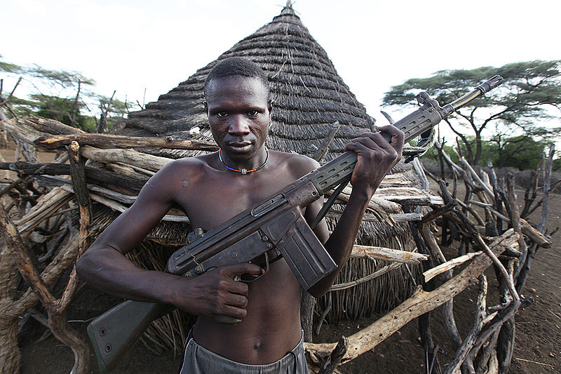 South Sudan Combatant
