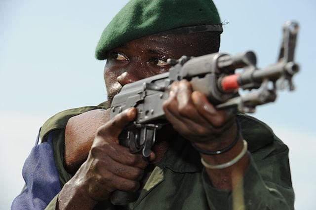 Congo Soldier