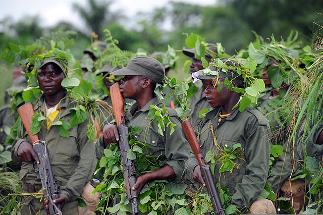 congo fighters