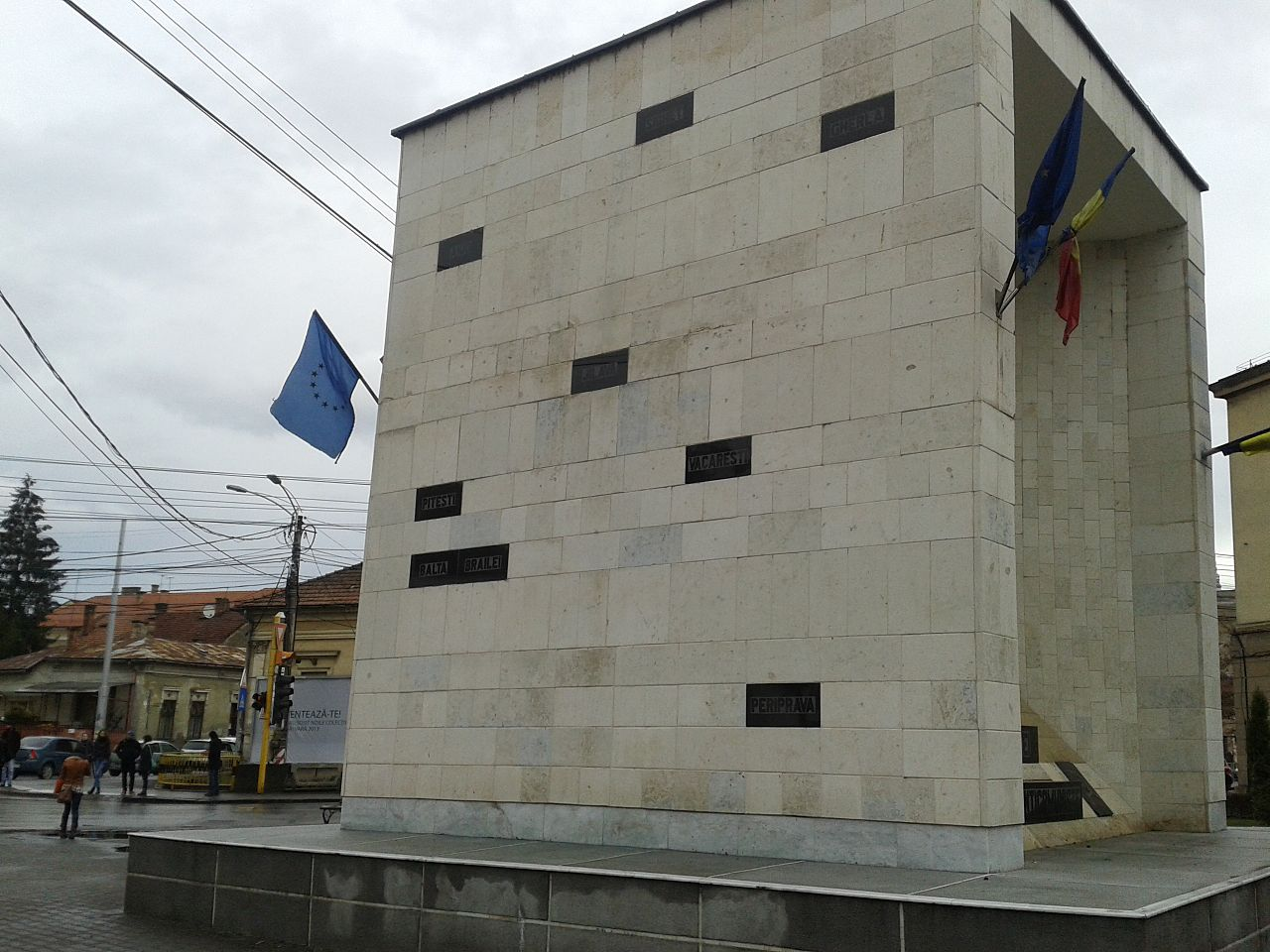 Monument to political prisoners