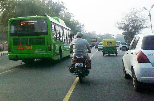 New Dehli bus
