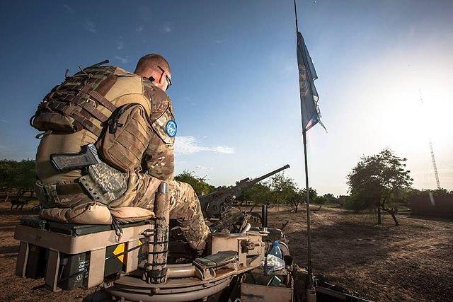 Dutch UN Troop