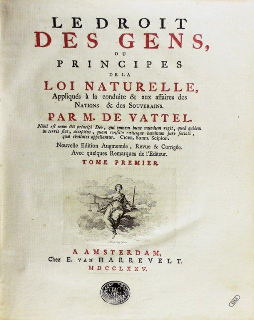 Vattel_Book