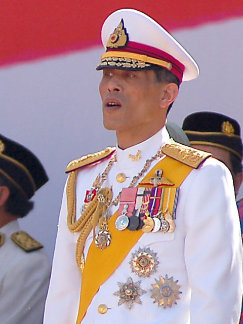 : Maha Vajiralongkorn at the 50th Mederka National Day celebrations