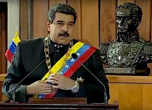 Maduro in 2017