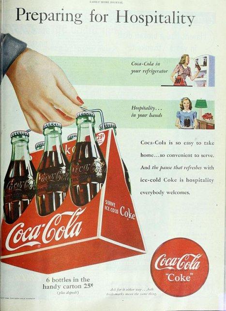 Coke advertisement