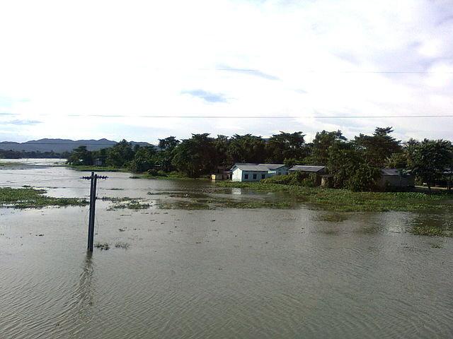 Flooding of Brahmaputra River