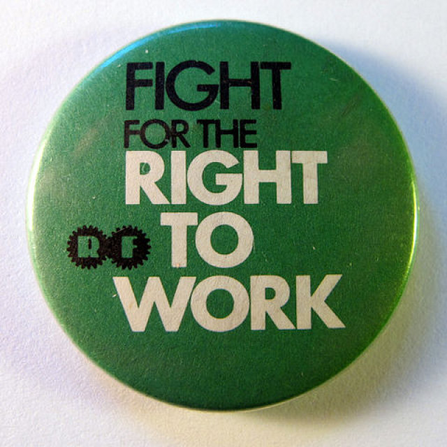 State appeals court upholds Wisconsin right-to-work law