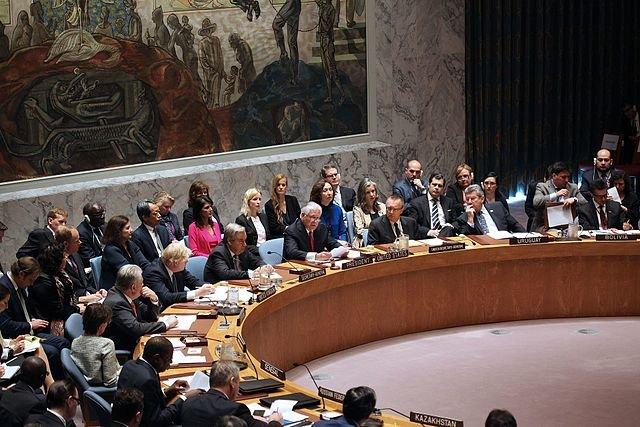 UNSC meeting on North Korea