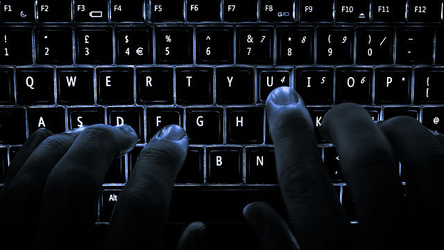Computer keyboard - hacking story