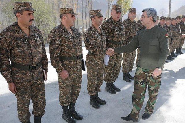 Military in Nagorno-Karabakh