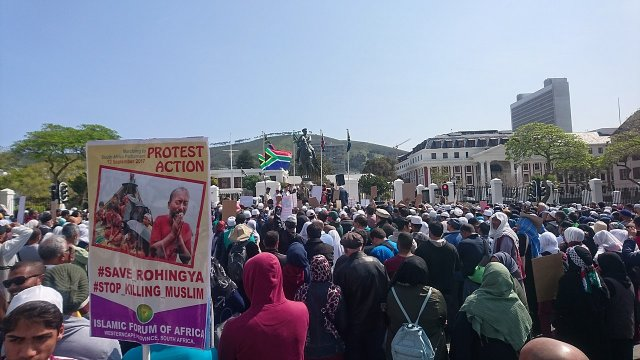 Protest for Rohingya Muslims