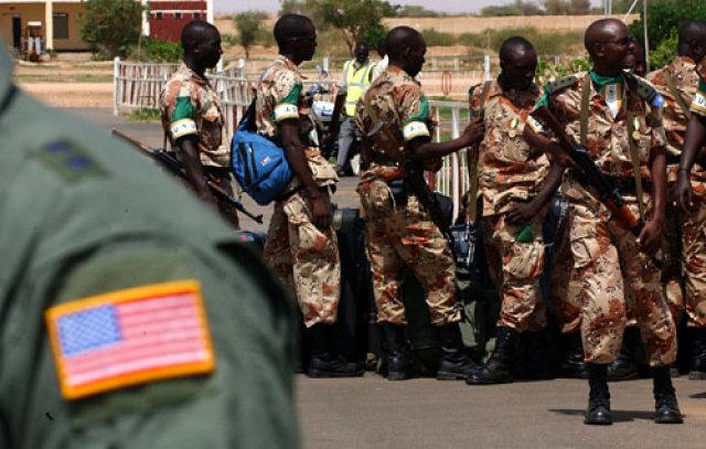 Rwanda soliders