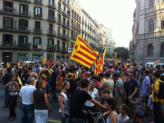 Catalan Independence protest