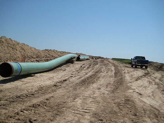 Keystone Pipeline Pipes