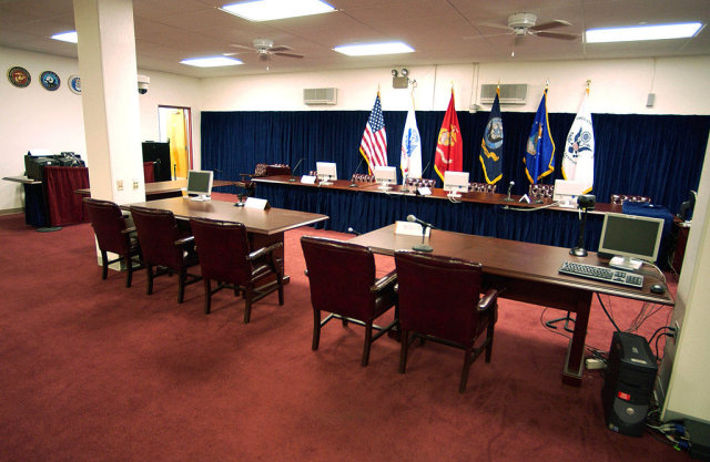 US Navy Courtroom