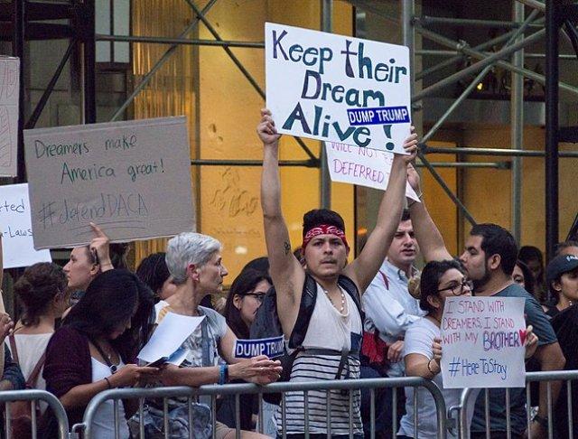 Defend DACA Protests - New York City